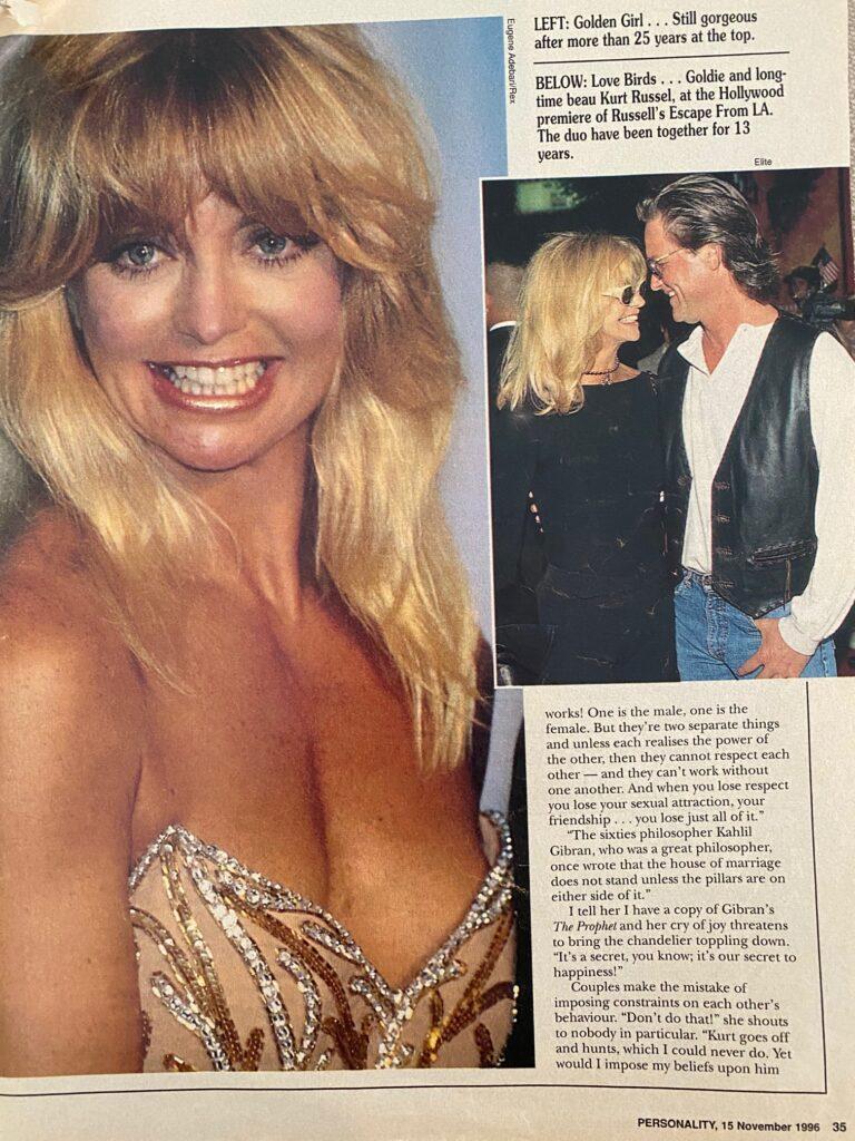 Goldie Hawn Interview Page 2