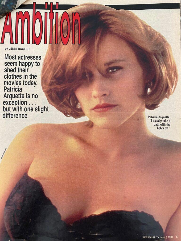 Patricia Arquette Interview